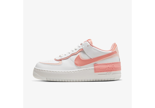 Женские кроссовки Nike Air Force 1 Shadow White and Pink (CJ1641-101), фото 1