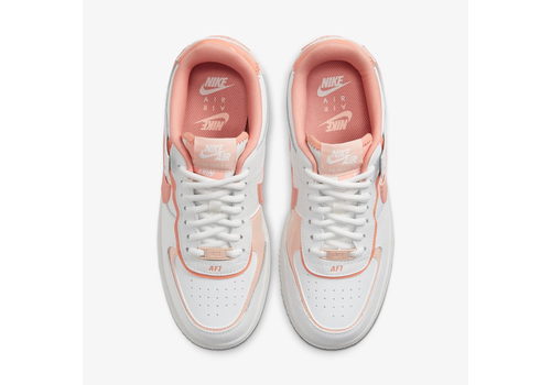Женские кроссовки Nike Air Force 1 Shadow White and Pink (CJ1641-101), фото 4