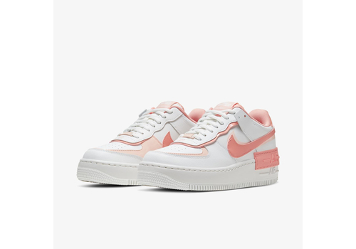 Женские кроссовки Nike Air Force 1 Shadow White and Pink (CJ1641-101), фото 5